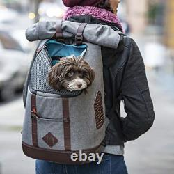 Kurgo Dog Carrier Backpack for Small Dogs & Cats, G-Train Pet Backpack Carrier
