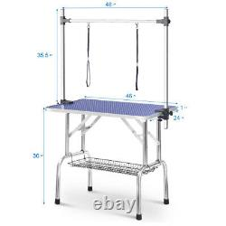 Large Size 46 Grooming Table for Pet Dog and Cat with Adjustable Arm