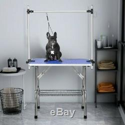 Large Size 46 Grooming Table for Pet Dog and Cat with Adjustable Arm and Clamp