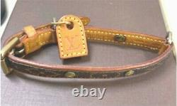 Louis Vuitton Corrie Baxter PM Pet Collar For small dogs Monogram Campus