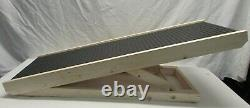 NEW Wooden Dog Ramp 4 Adjustable Heights Bed/Couch Pet Ramp 40 Folds Flat
