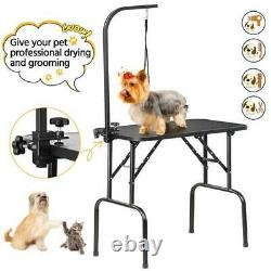 New 32 SmileMart Large Adjustable Pet Dog Professional Grooming Table