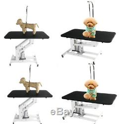 New Summer Pet Dog Cat Adjustable Heavy Hydraulic Grooming Table Desk