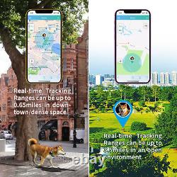 No Monthly Fee Pet GPS Tracker Collar Real-Time Tracking Devices Locator For Dog