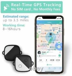 No Monthly Fees GPS Tracker Pets Health Activity Monitor Real-time Track Collars
