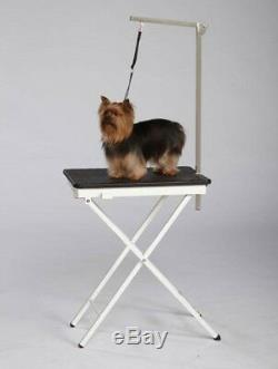 PET Folding Portable GROOMING TABLE&Adjustable ARM&LOOPHome Travel Show Mobile