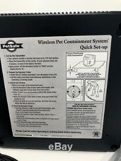 PetSafe PIF 300 Pet Containment System Wireless Dog Fence + 1 Adjustable Collar