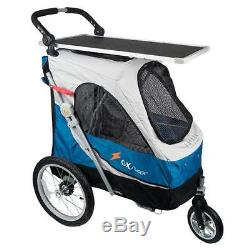 PetStro Safari Ultimate Pet Stroller 88cm Dog Show trolley Cage & grooming table