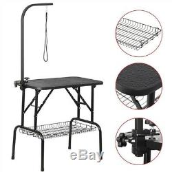 Pet Dog Cat Grooming Table Professional Foldable Height Drying Table