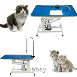 Pet Dog Cat Heavy Type Hydraulic Grooming Table With Adjustable Arm For Large Pet