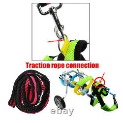 Pet Dog Wheelchair Adjustable Handicapped Cat Puppy Traction Training Rope