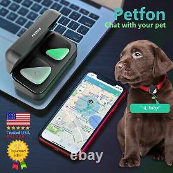 Pet GPS Tracker Anti-Lost Live Location Health Activity Monitor No Monthly fee