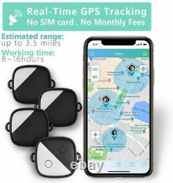 Pet GPS Tracker No Monthly Plan Fee Real-Time Tracking Collars For 1-2-3 Dogs