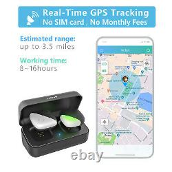 Pet GPS Tracker for 1-3 Dogs No Monthly Fee Real-Time Tracking Device Monitor