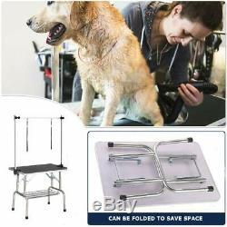 Pet Grooming Table for Large Dogs Adjustable Professional Portable Trimming