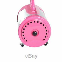 Pet Hair Force Dryer Dog Grooming Blower With Heater 3.2HP Adjustable Speed Pink