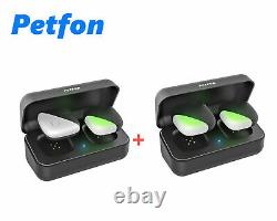 Petfon Pet GPS Tracker Collars No Monthly Fee Real-Time Track 1-2-3 Dogs Locator