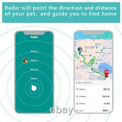 Petfon Pet GPS Tracker No Monthly Fee Real-time Tracking 0.65-3.5mile Waterproof