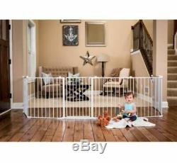 Playpen Safety Barrier Baby Gate Wide Play Area Toddler Child Pet Dog Fence Yard