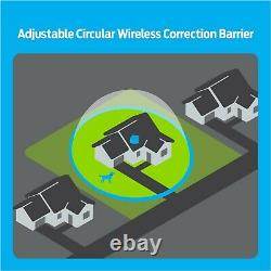 Premier Pet Wireless Fence for Dogs. 5 Acre Adjustable Circular Barrier