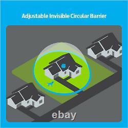 Premier Pet Wireless Fence for Dogs. 5 Acre Adjustable Circular Barrier, Wire-F
