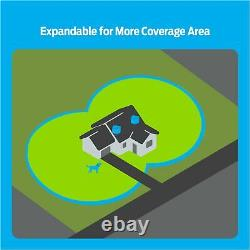 Premier Pet Wireless Fence for Dogs Invisible. 5 Acre Adjustable Circular Barri