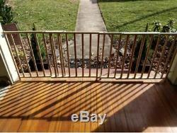 SAFETY BABY GATE DOG PETS EXTRA LARGE SLIDING GATES 5 To 8 Foot Wide Long Strong