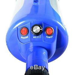 SHELANDY 3.2HP Stepless Adjustable Speed Pet Hair Force Dryer Dog Grooming Bl