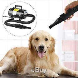 Topwill 2800W Dryer Hair Professional for Pets Dog Cat Adjustable