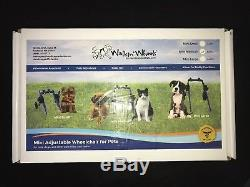 Walkin' Wheels AA302 Adjustable Pet Wheelchair Handicapped Mini Dog up to 8#