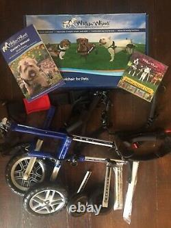Walkin Wheels Adjustable Wheelchair For Pets Small Dogs 8-25lbs