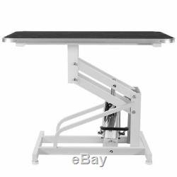 Xpusa Z-Lift Metal Hydraulic Pet Dog Cat Grooming Table withAdjustable Arm Noose