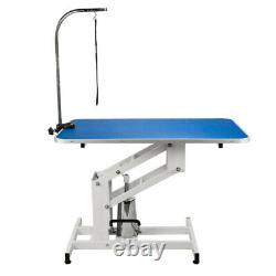 Z-Lift Hydraulic Pet Grooming Table WithAdjustable Arm Noose for Dog and Cat CH
