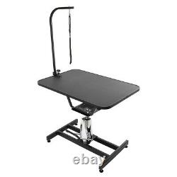 Z-Lift Pet Grooming Table Hydraulic Dog Pet Table Adjustable Heavy WithArm&Noose